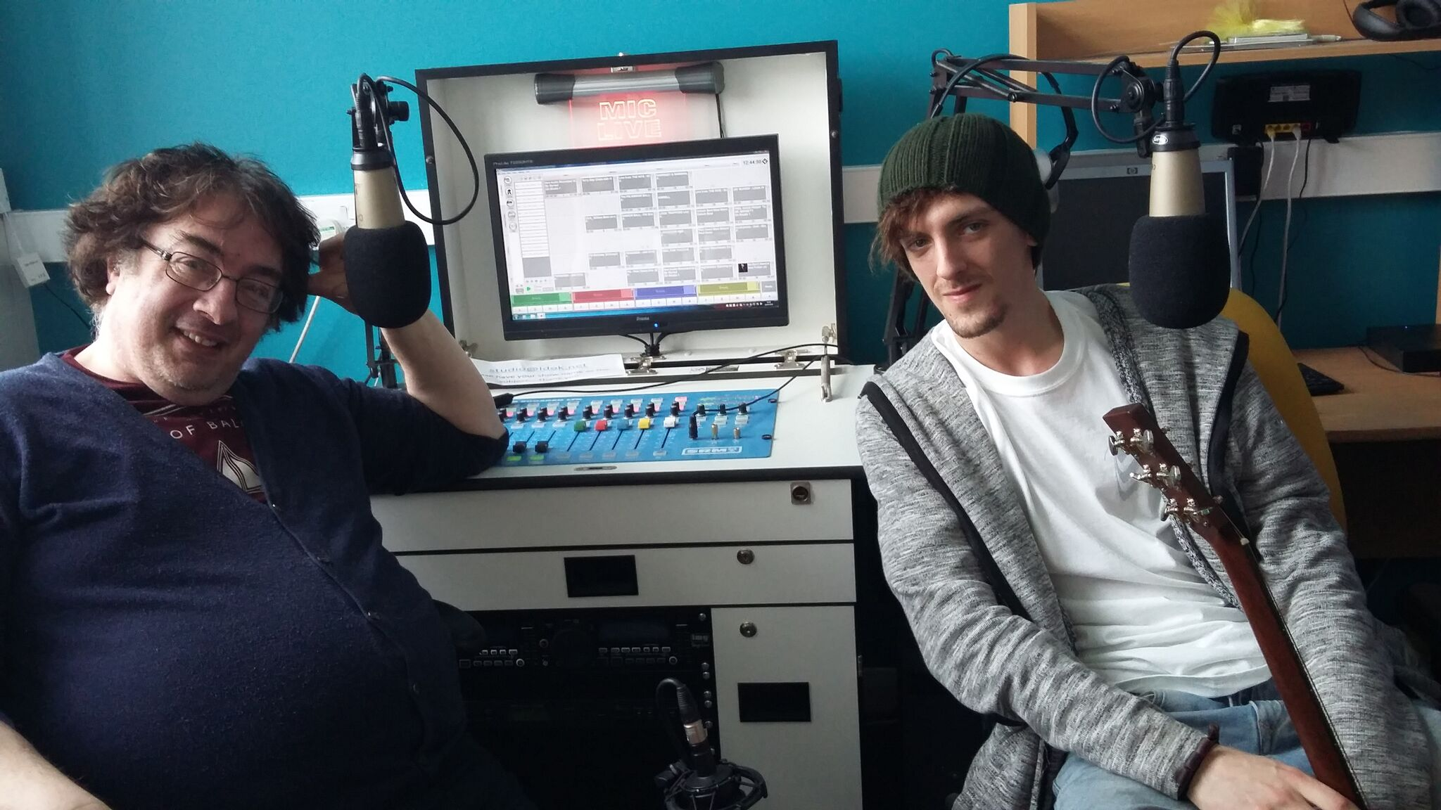 Stepping Stones Across the Airwaves Records First Show