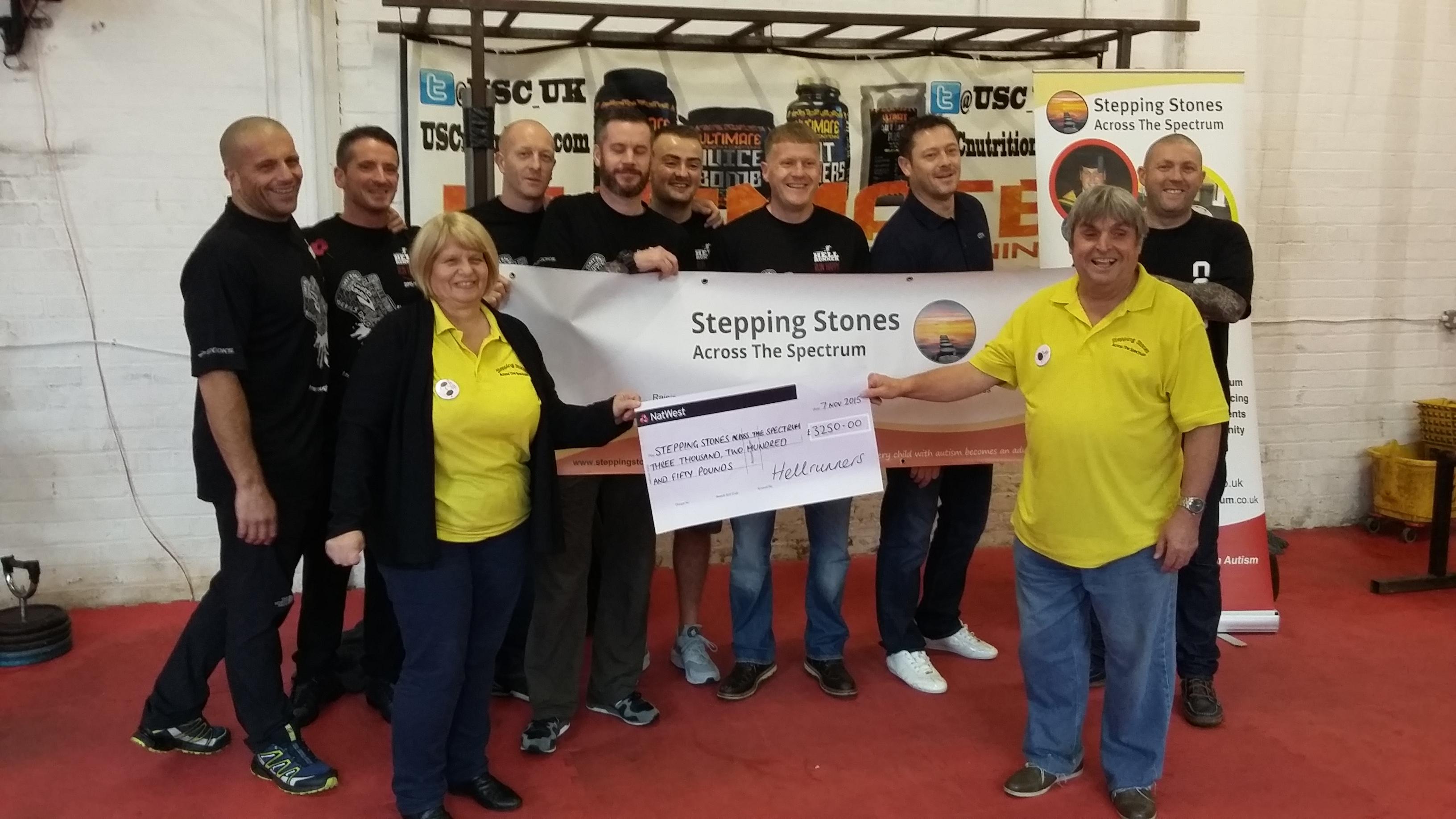 Hellrunners raise £3250