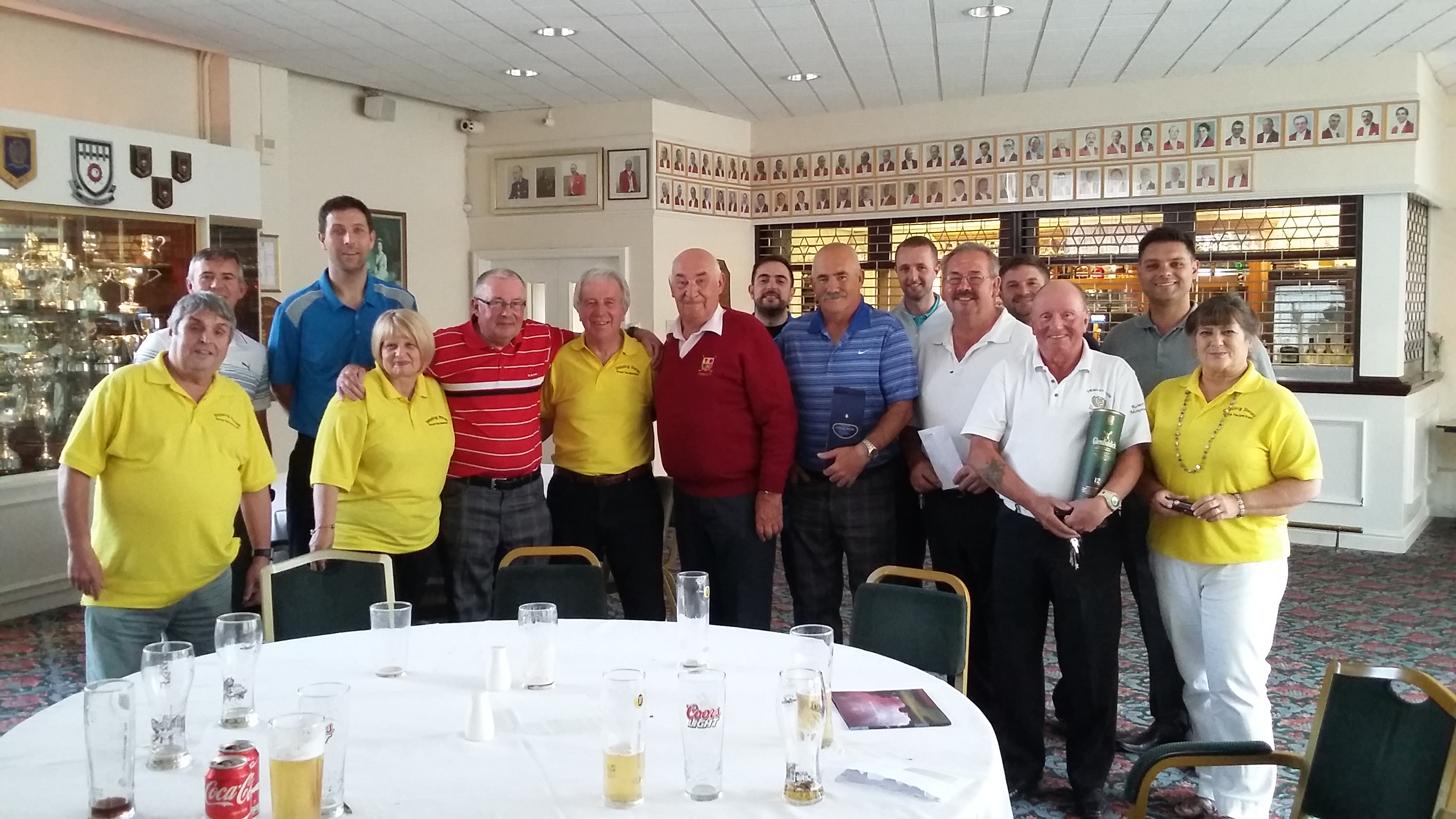 Golf Fundraising Day makes £1200