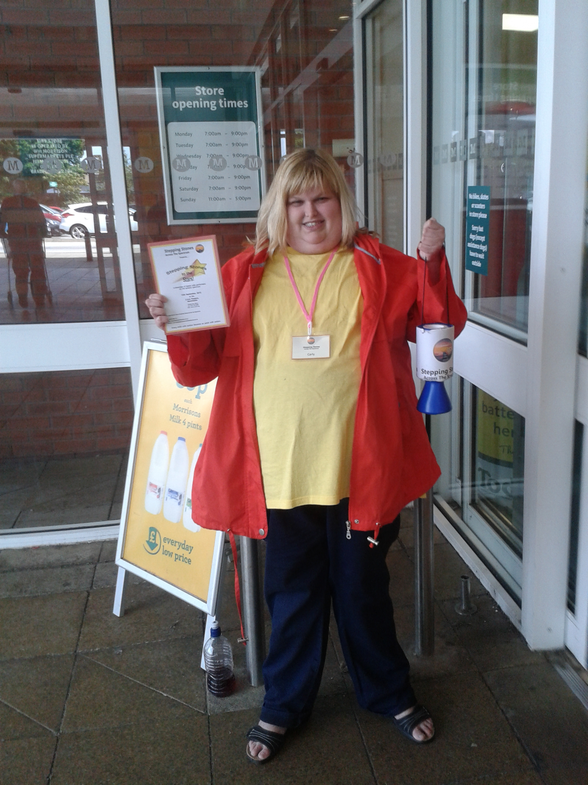 Bag Packing Day in Morrisons, Ormskirk